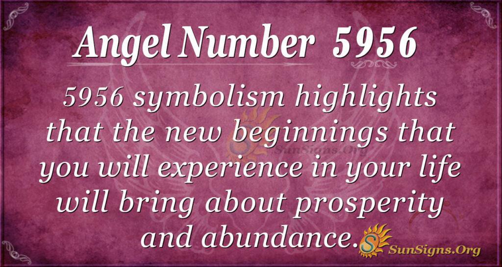 5956 angel number