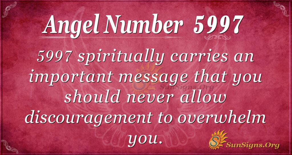 5997 angel number