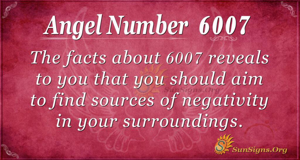 6007 angel number