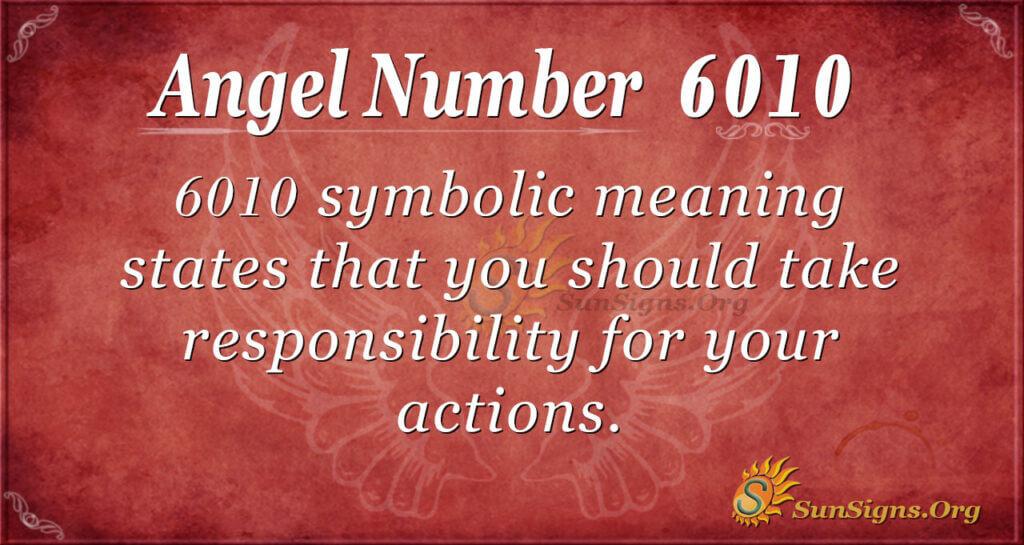 6010 angel number