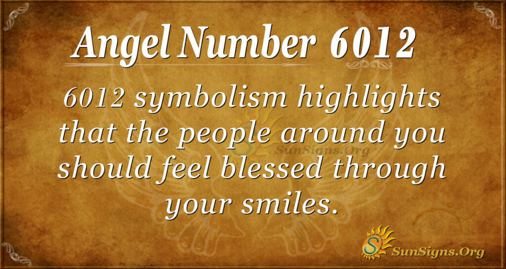6012 angel number