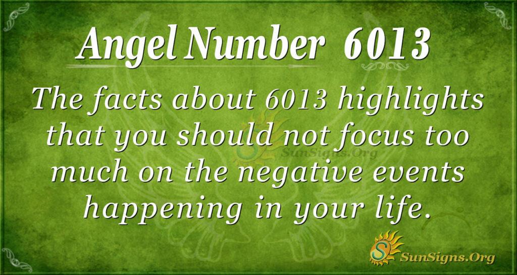 6013 angel number