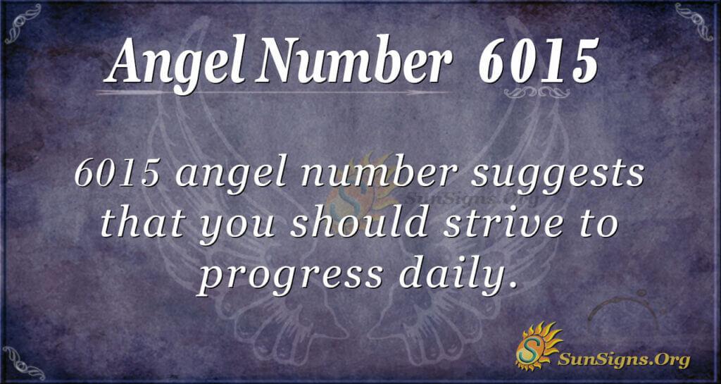 6015 angel number