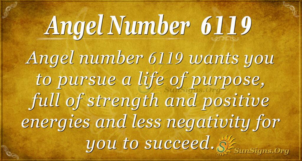 6119 angel number