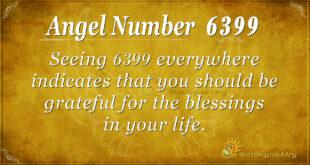 6399 angel number