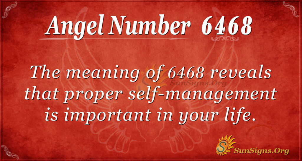 6468 angel number