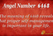6468 angel number