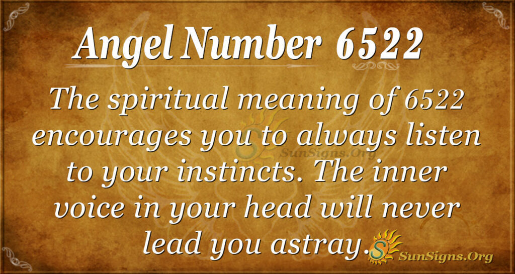 6522 angel number