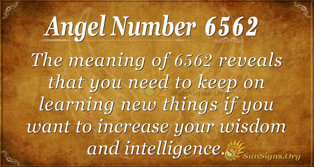 6562 angel number