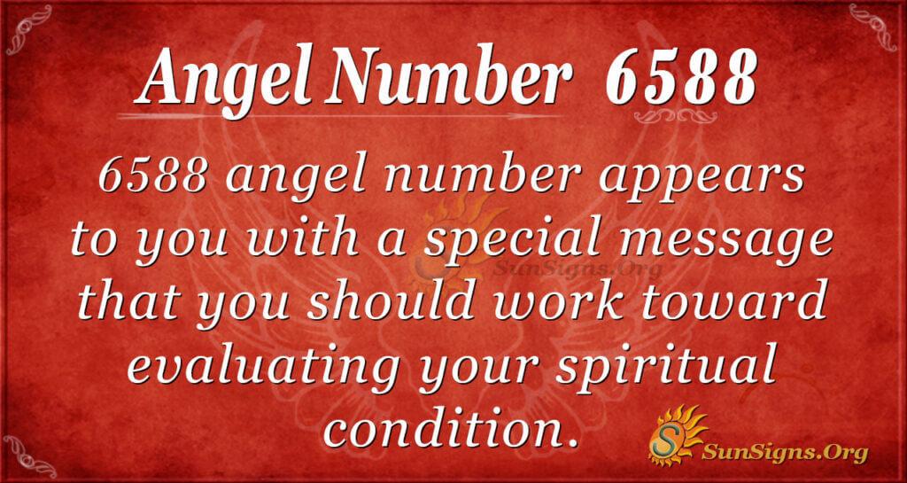 6588 angel number