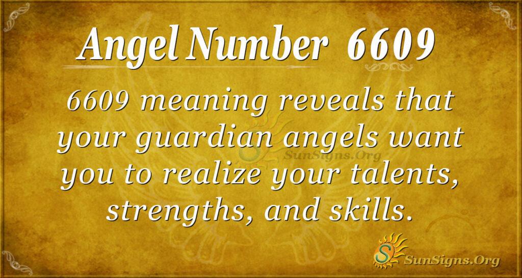 6609 angel number