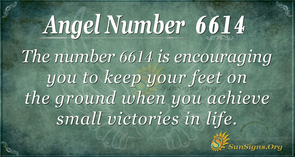 6614 angel number