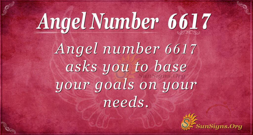 6617 angel number