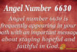 6630 angel number