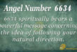 6634 angel number