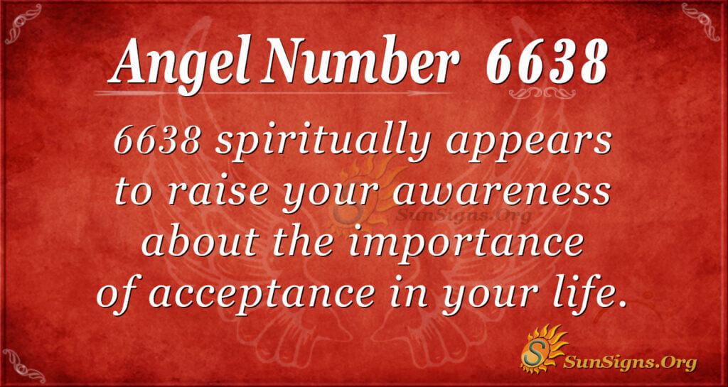 6638 angel number