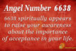6638 angel number