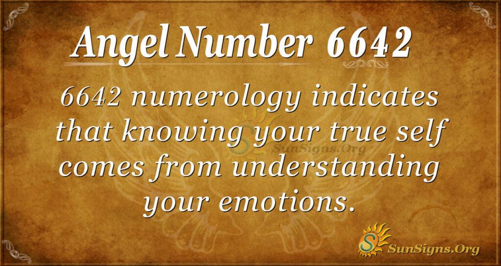6642 angel number