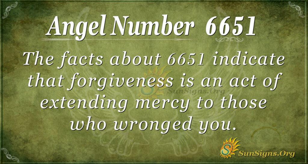 6651 angel number