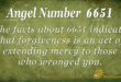 6651 angel number