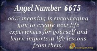 6675 angel number
