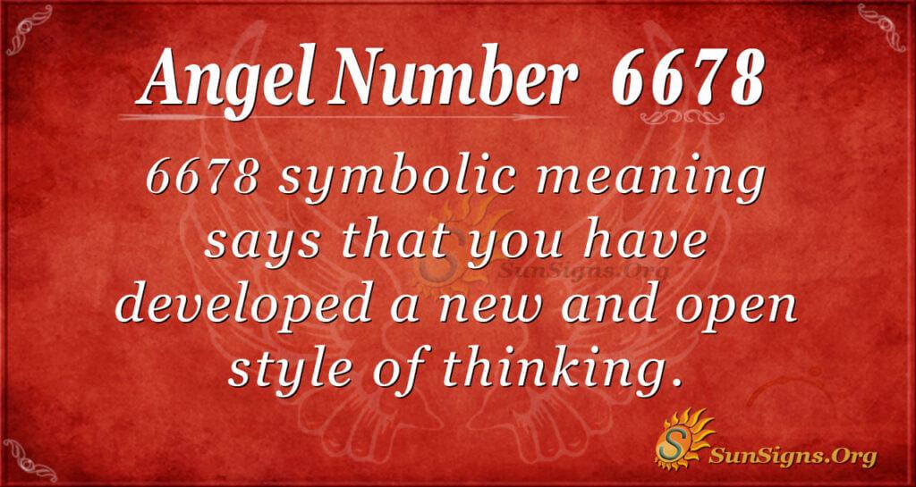 6678 angel number