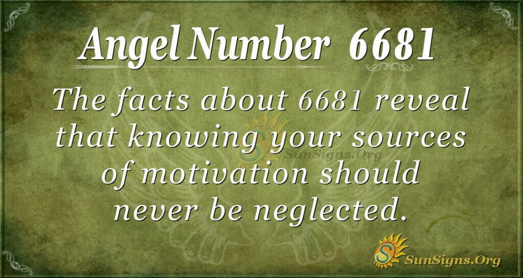6681 angel number