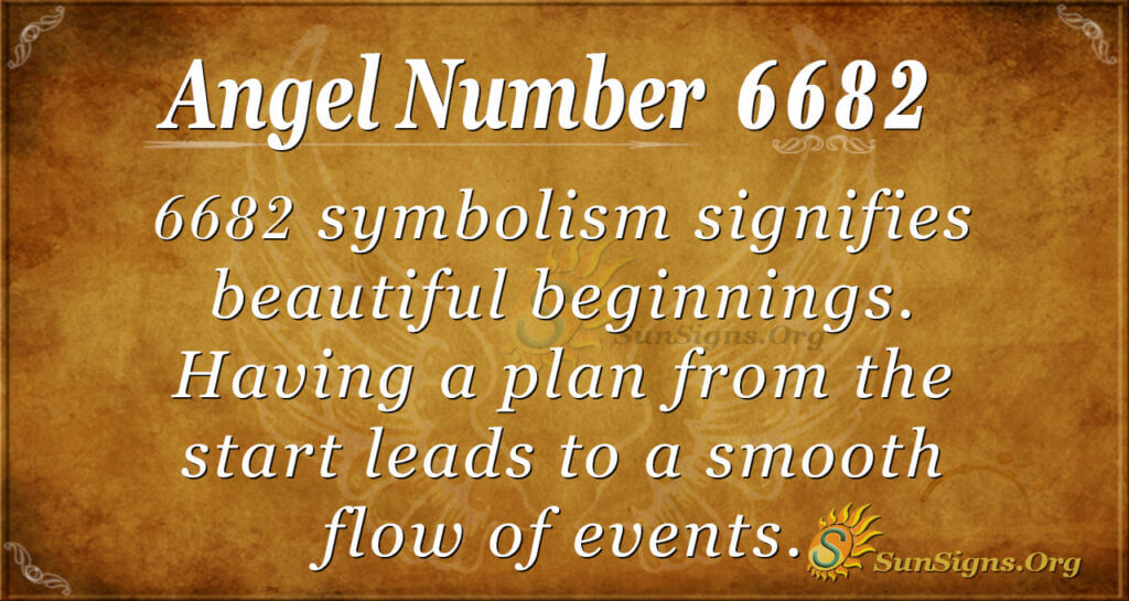 6682 angel number
