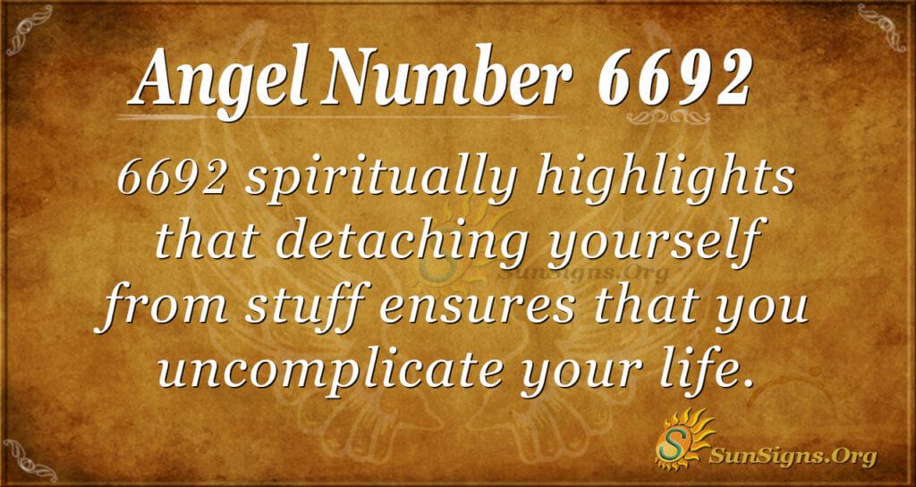6692 angel number