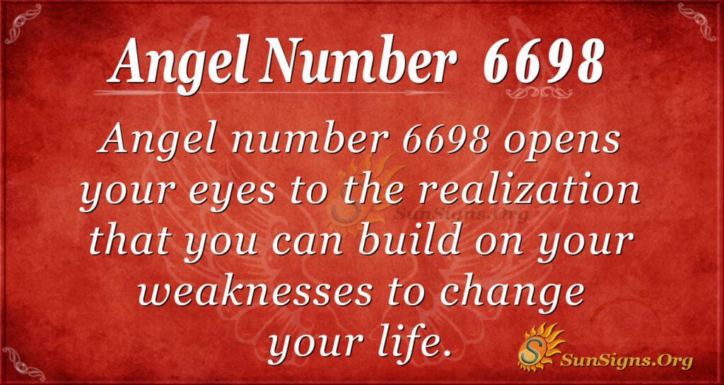 6698 angel number