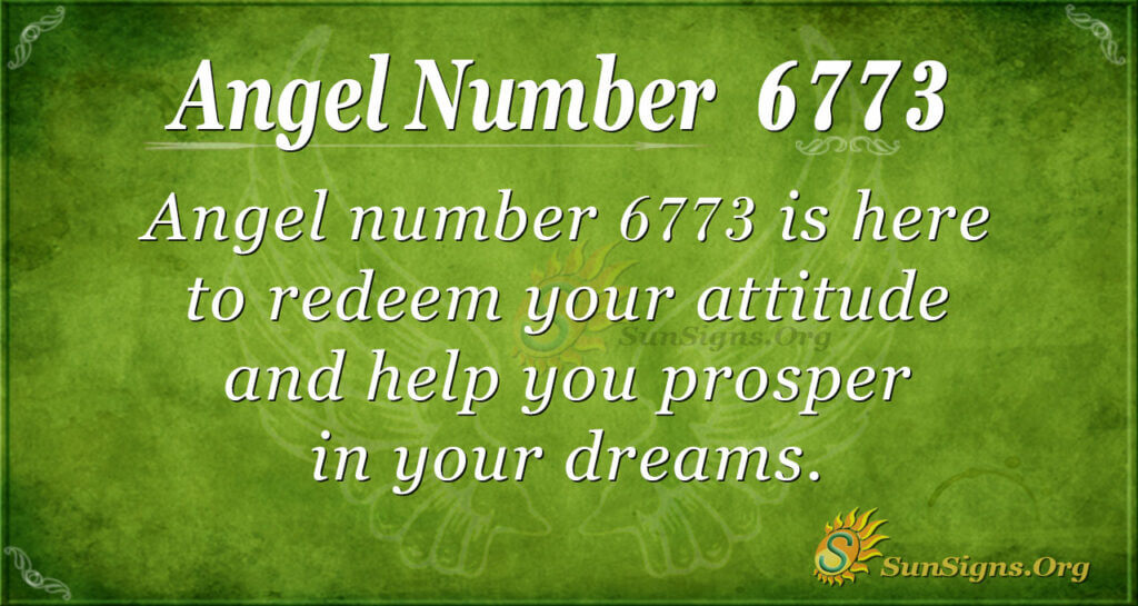 6773 angel number