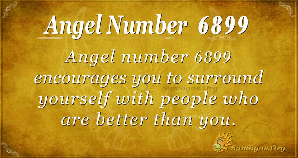angel number 6899