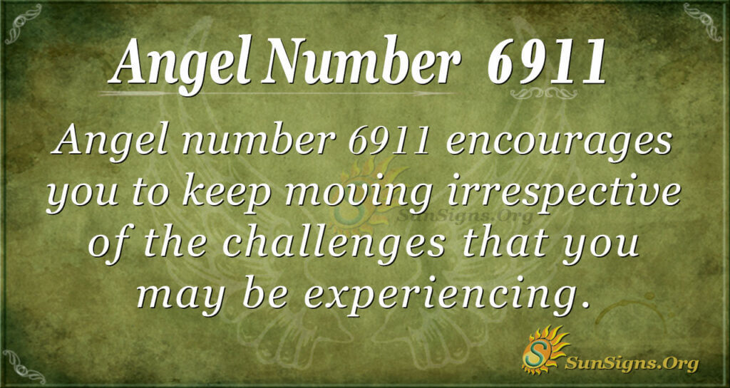 angel number 6911