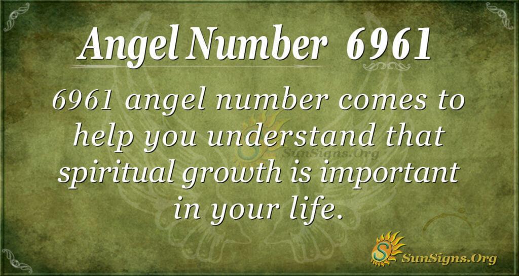 6961 angel number