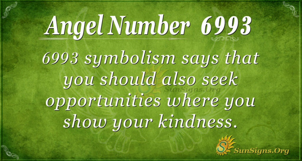 6993 angel number