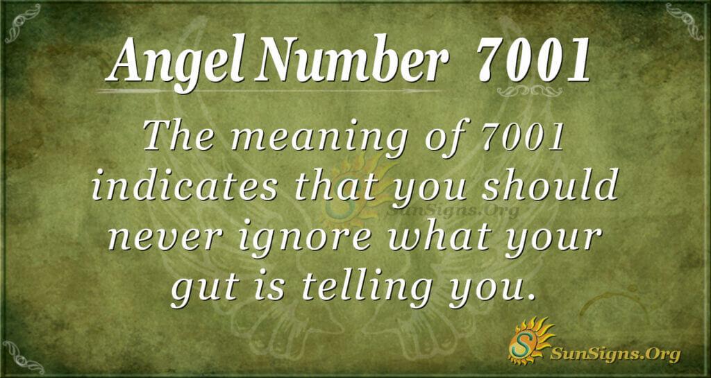 7001 angel number