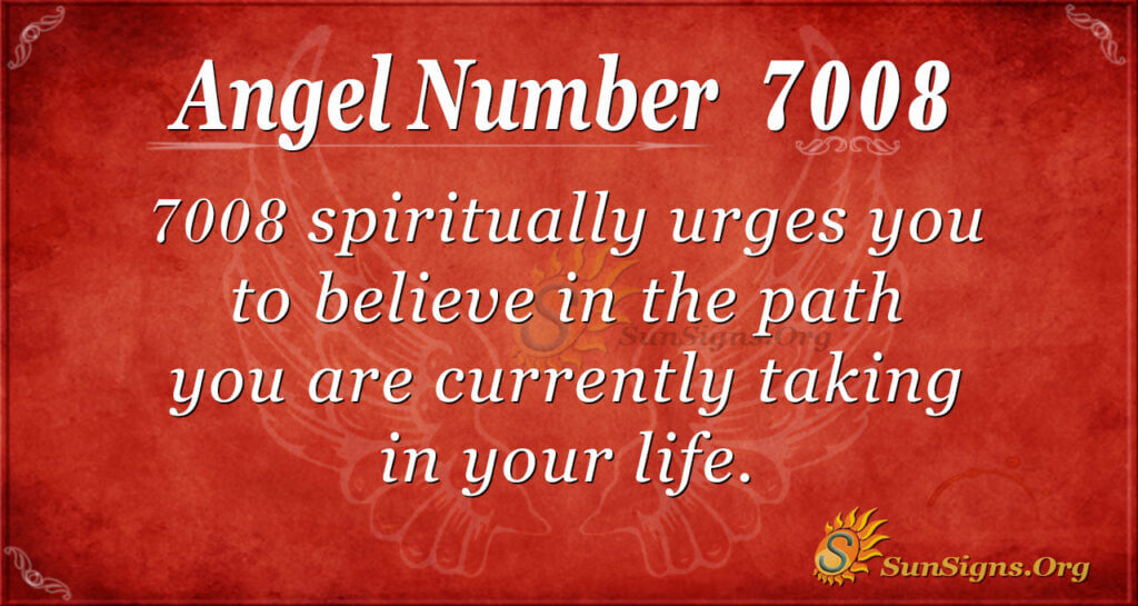 7008 angel number