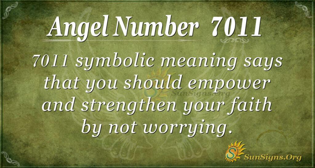 7011 angel number