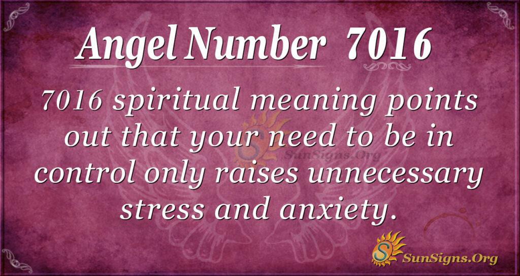 7016 angel number