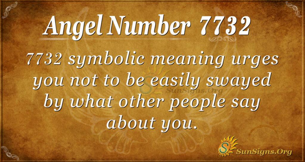 7732 angel number