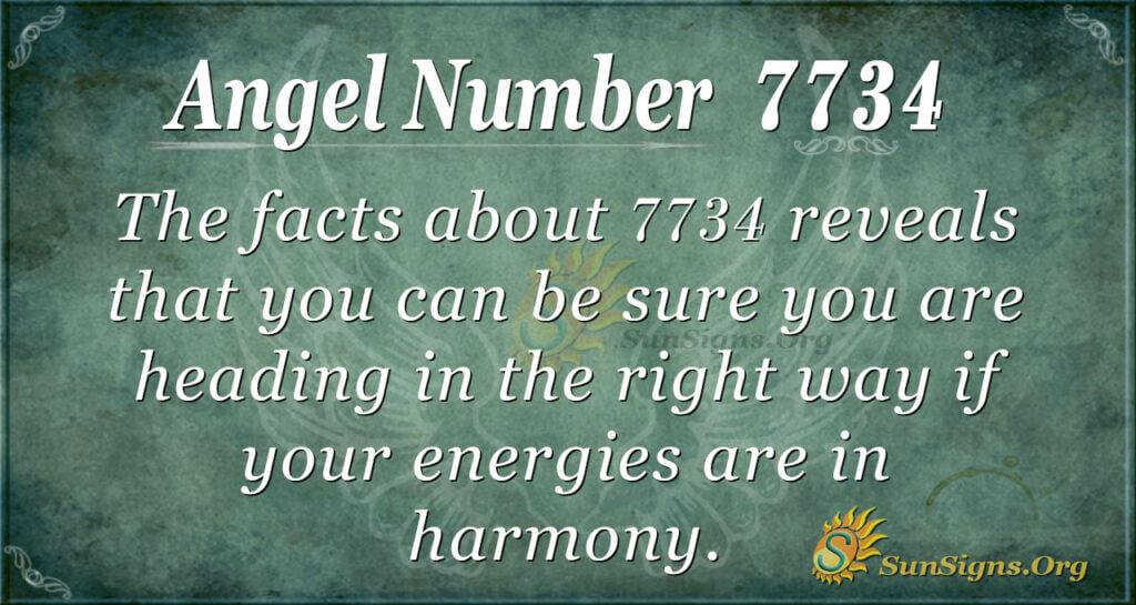 7734 angel number