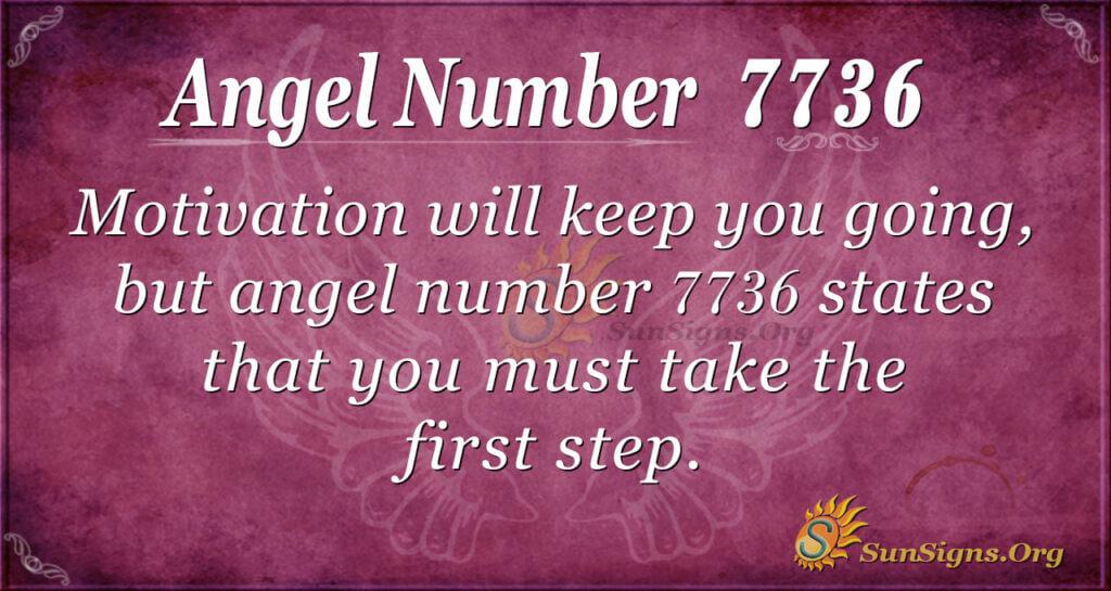 7736 angel number