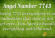 7743 angel number