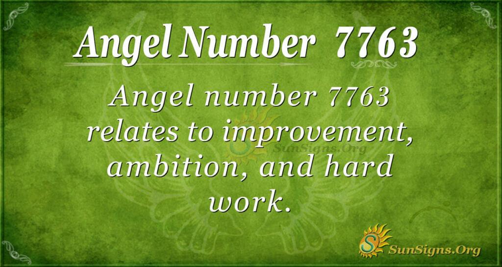 7763 angel number