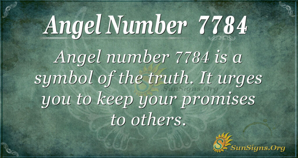 7784 angel number
