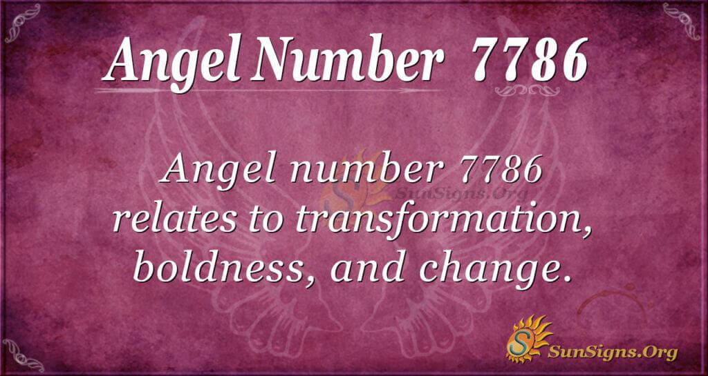 7786 angel number