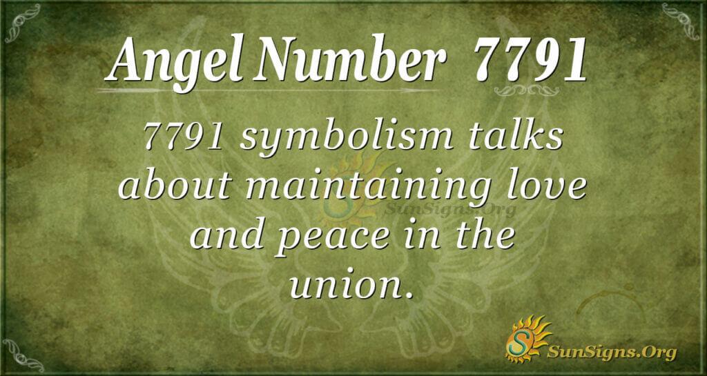 7791 angel number
