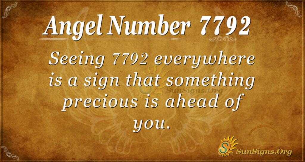 7792 angel number