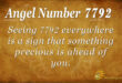 7792 angel number