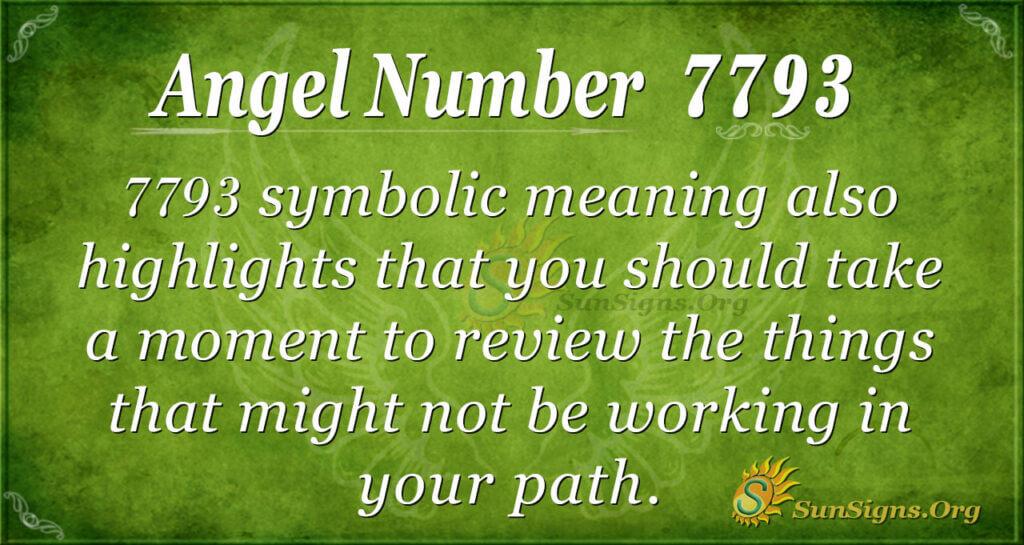 7793 angel number